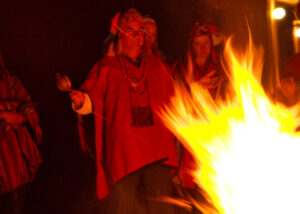 Fire Despacho Ceremony